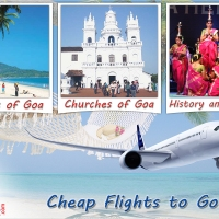 Make yourself adventurous with cheap air tickets to Goa